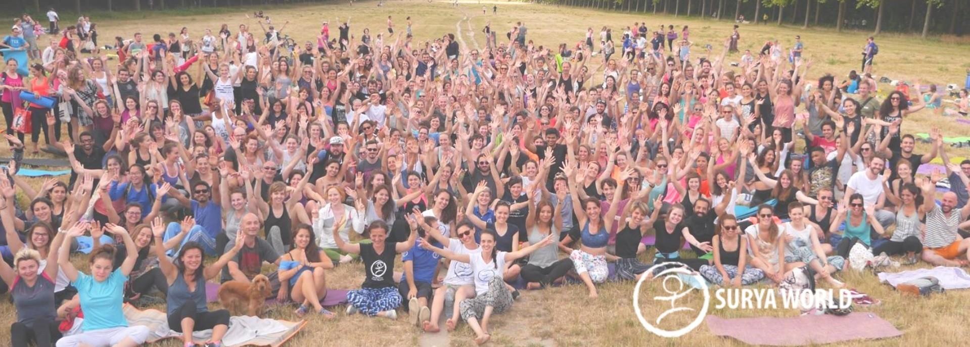 Paris: Free yoga class at Vincennes