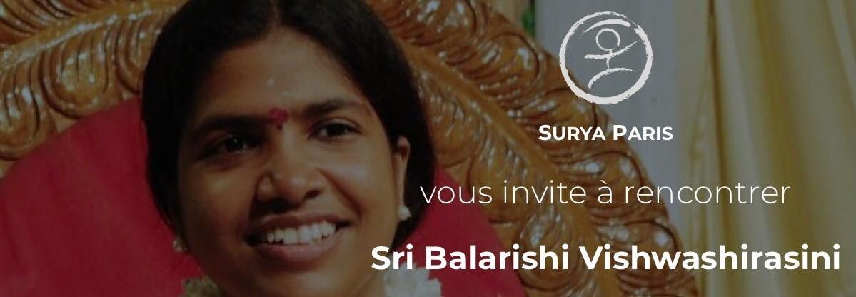 Paris: meet Sri Balarishi Vishwashirasini