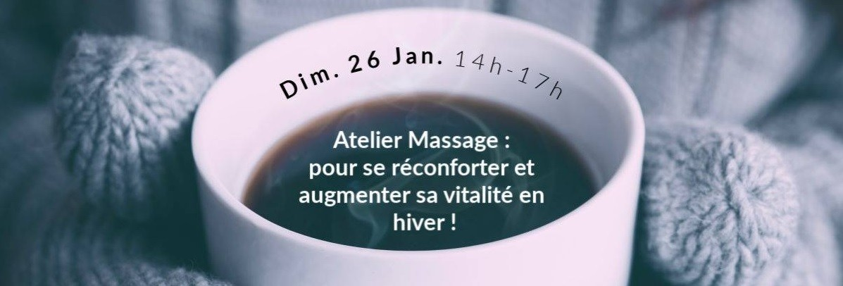 Montreal : Massage workshop to increase vitality