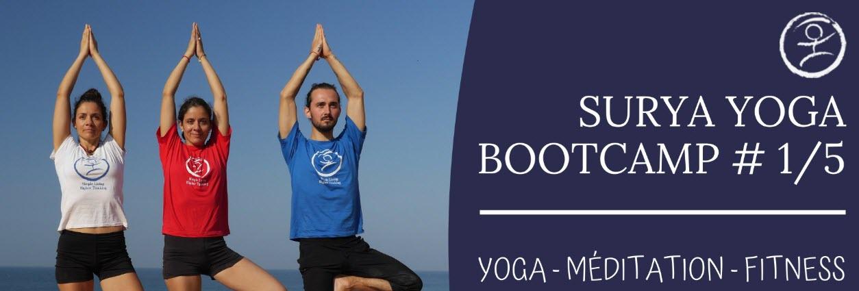 Tours : Yoga Bootcamp #1/5