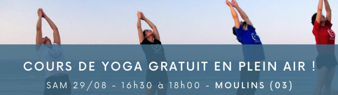 Auvergne : discover Suryashtanga Yoga