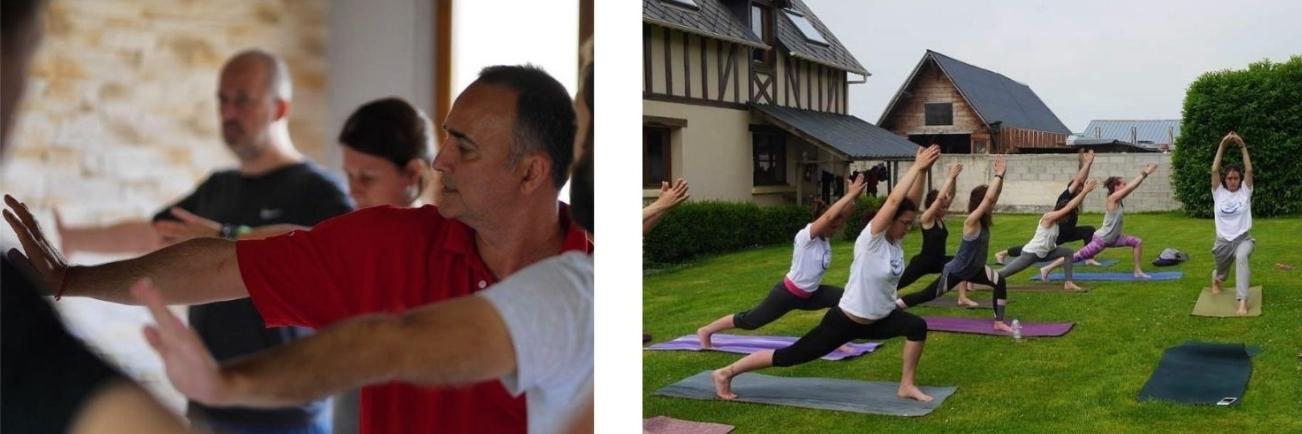 Normandie: yoga weekend