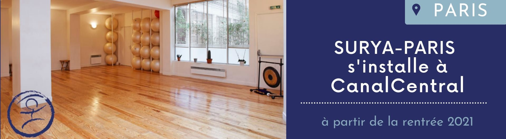 Paris: New yoga studio at CanalCentral